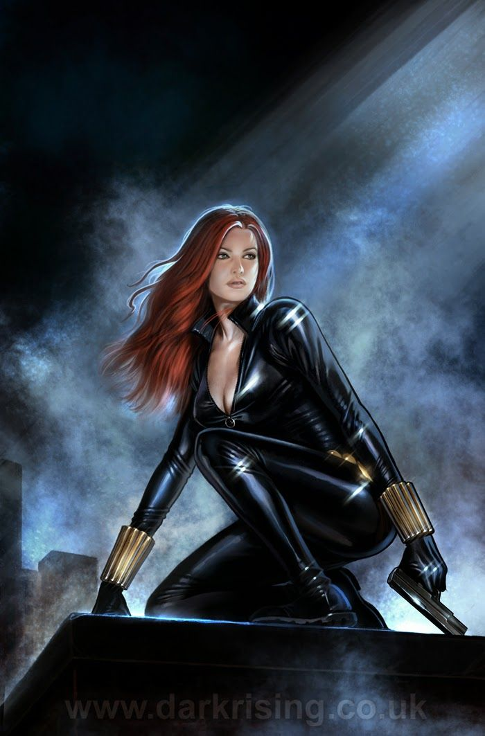 Black Widow by Aly Fell