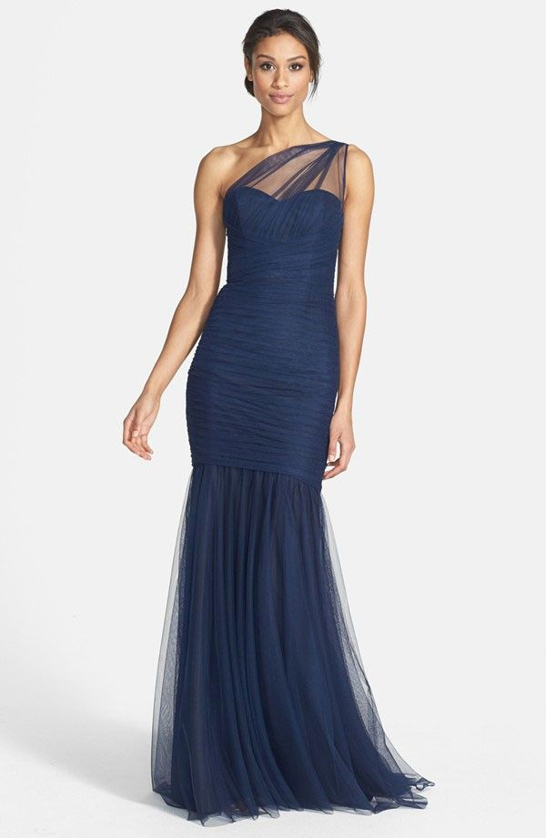 Ruched and Pleated Bridesmaid Dresses