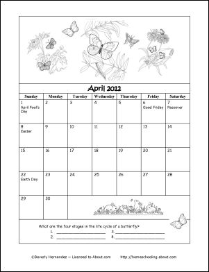 Celebrate holidays and special days in April 2012 - Fundays Calendar