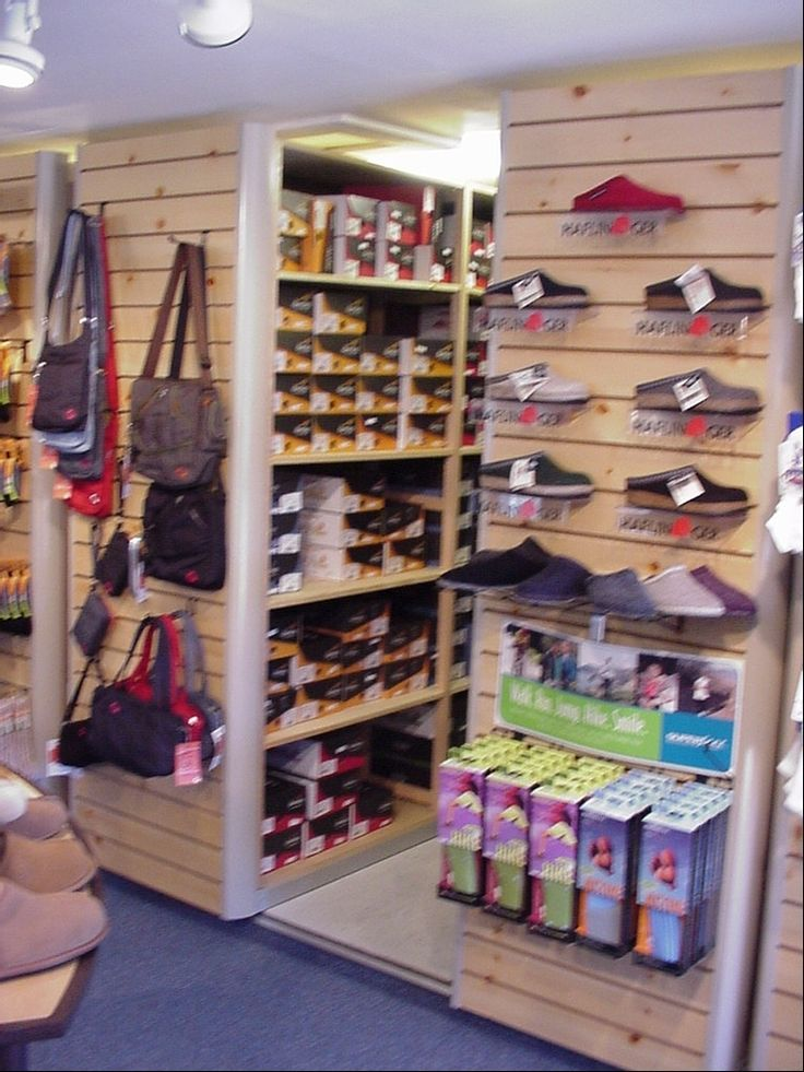 9 best images about bkm on pinterest wood store drywall for Sneaker wall display