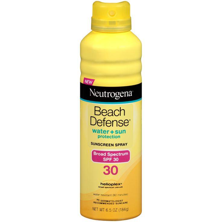 Neutrogena Beach Defense Suncreen Spray, SPF 30, 6.5 oz