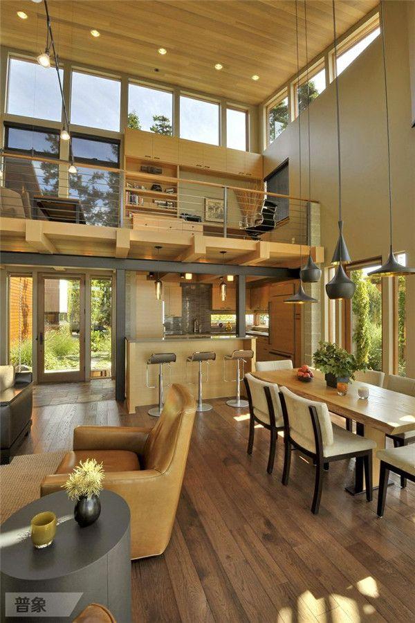 LOFT复式小宅的设计全都在这了,喜欢拿走! - 长微博