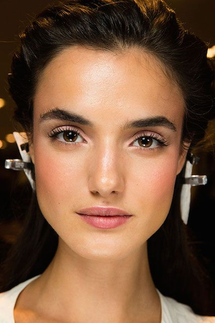 Spanish model, Blanca Padilla during Victoria's Secret Fashion Show 2014 Backstage...