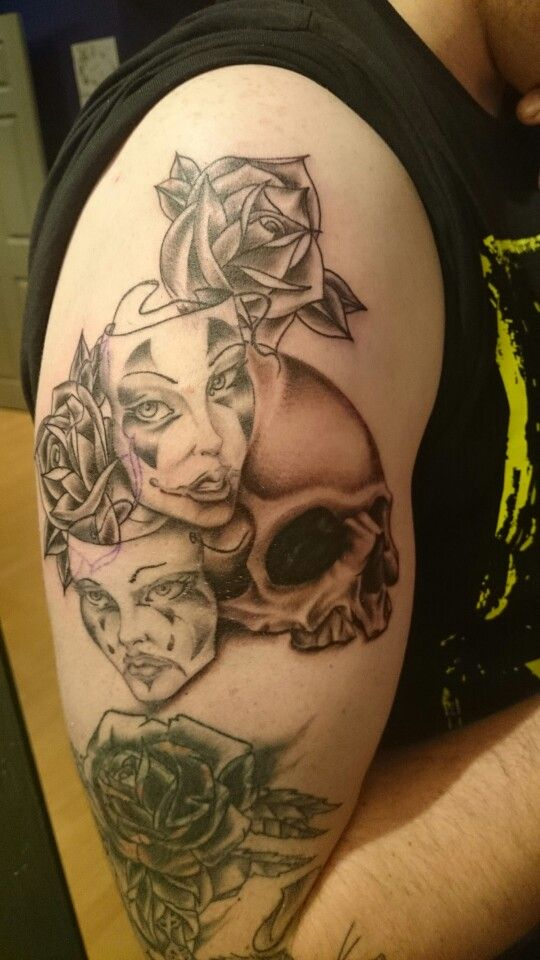 Some additions to existing tattoo