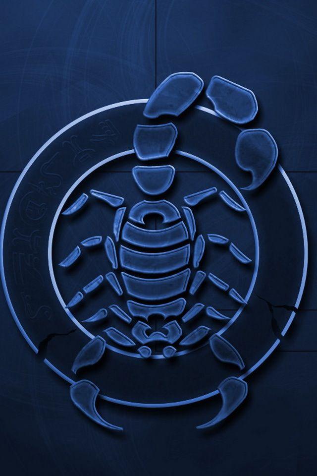 Wallpaper for iPhone Scorpion Zodiac Hd
