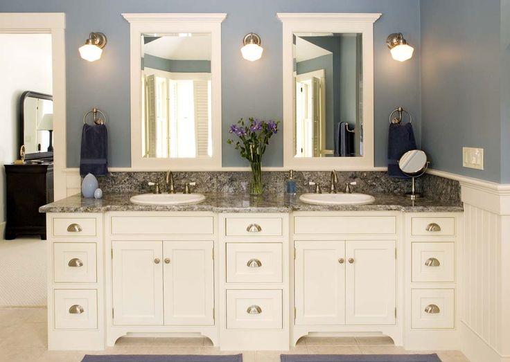 Bathroom Vanities White 61 best hamptons house bathroom images on pinterest | dream