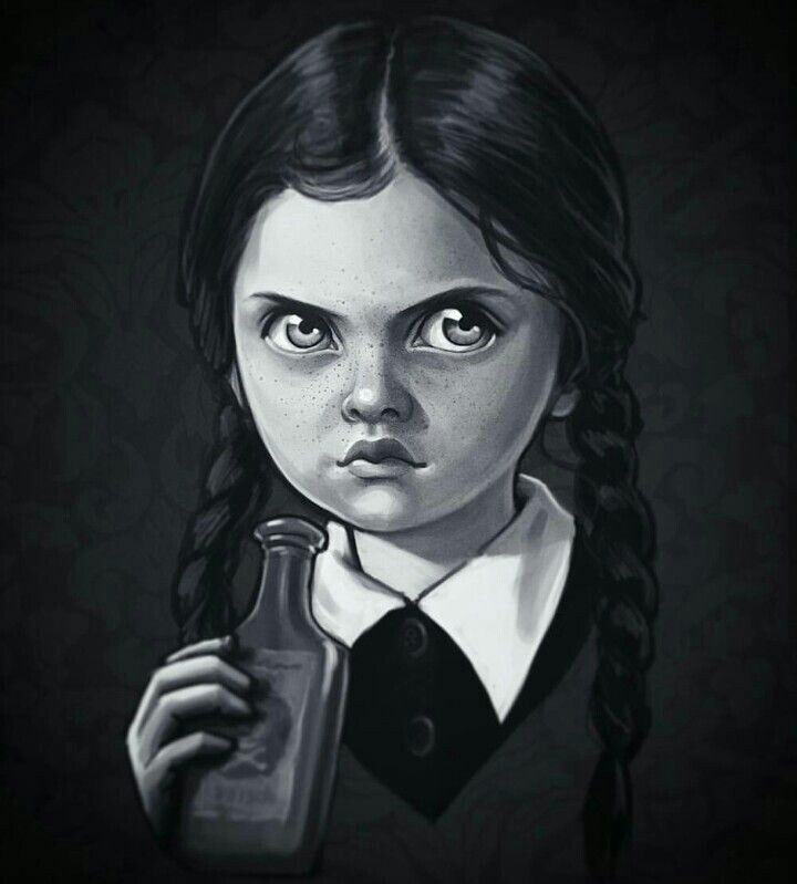 A Wednesday Addams Edit..✝
