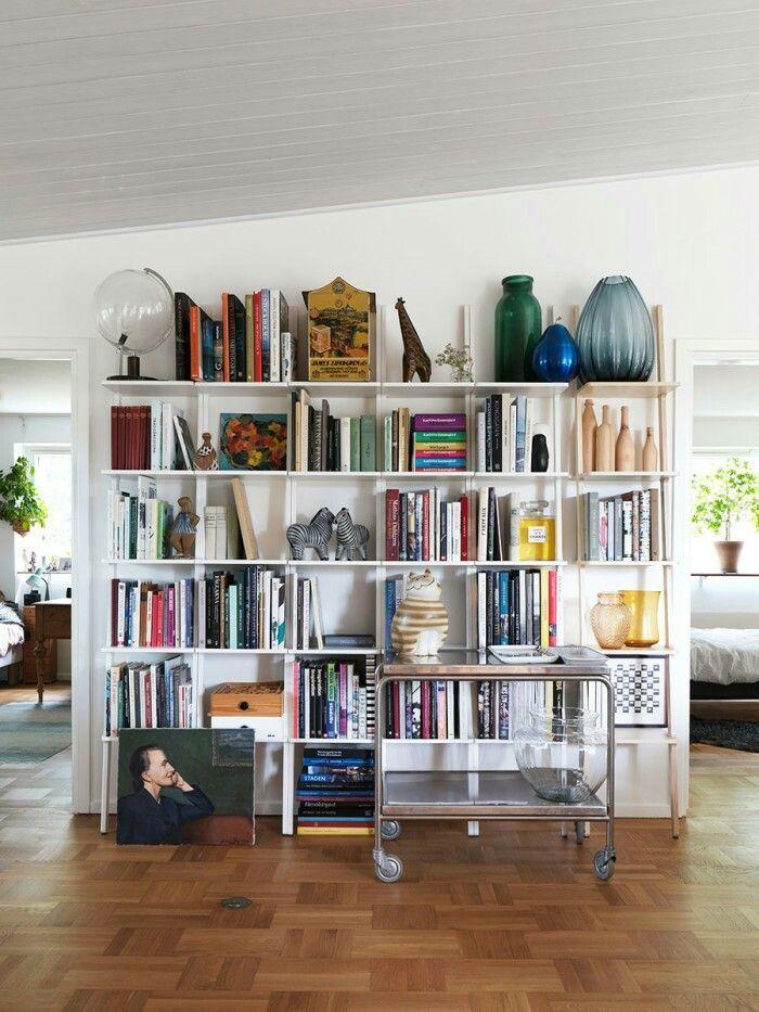 White Walls Decorating best 25+ white bookshelves ideas on pinterest | living room