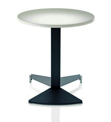 Name: Aida Table Brand: Magis.  -Suitable for outdoor use. -Fold away, and moveable on wheels. -Will probably fit well with magis chairs