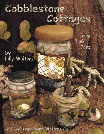 Paint Cobblestone Cottages from Junk Jars Decorative Faux Painting book