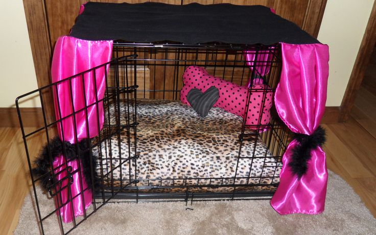 Dog Crate Decor For My Little Princess For The Dogs