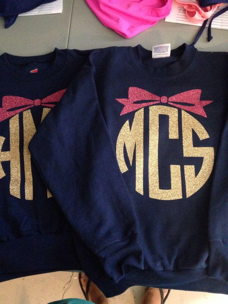 1000  ideas about monogram sweatshirt on pinterest