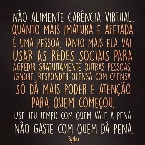"""bynina: """"Por favor… #frases #carência #ignore #nãosejaessapessoa #ByNina #instabynina """""""