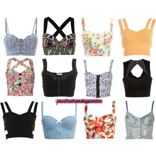 Bustiers ♥ by yourfashioninspiration on Polyvore featuring moda, Miss Selfridge, River Island, Rare London, Warehouse, Forever 21, House of Deréon, corset, collection and clothes