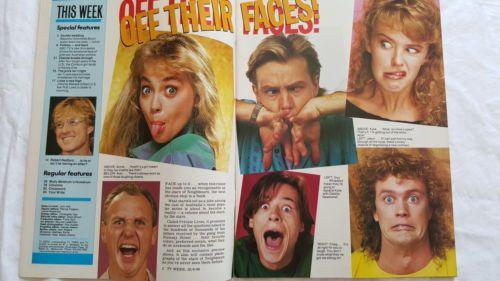 TV Week Mag,1988 June 25,Kylie Minogie & Jason Donovan Cover,Pat Cash Pinup