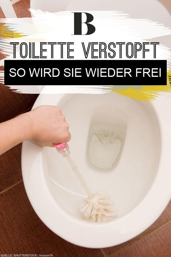 Toilette Verstopft So Wird Sie Wieder Frei Toiletten Verstopfte Toilette Und Rohrreinigung