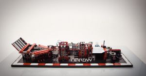 This Overly-Complicated #LEGO Factory Folds And Launches Paper Airplanes