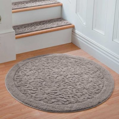 rowan embossed washable area rugs - Washable Rugs
