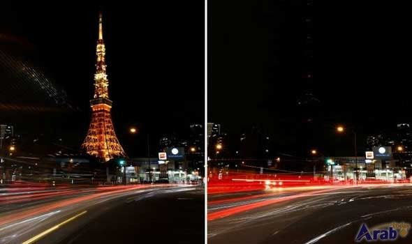 Lights go out around the world for…