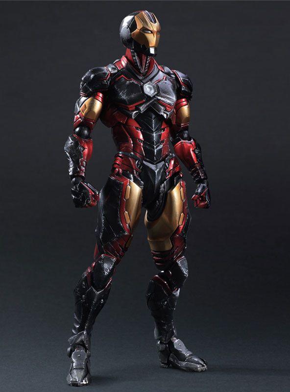 Play Arts Kai Marvel Iron Man Variant Action Figure