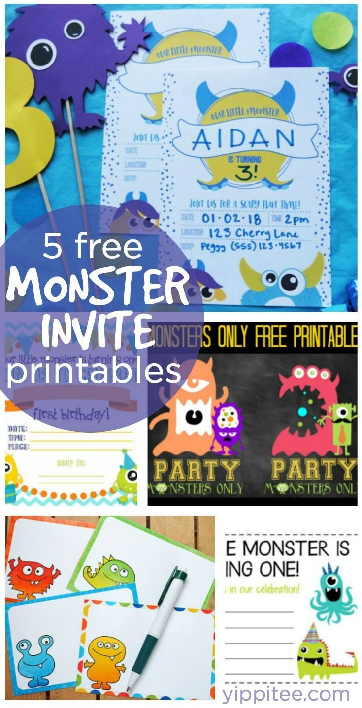 157 best Monster Birthday Party Ideas images on Pinterest | Little ...