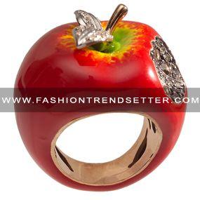 Turkish designer Sevan Biçakçi I love apples. Plain and simple.