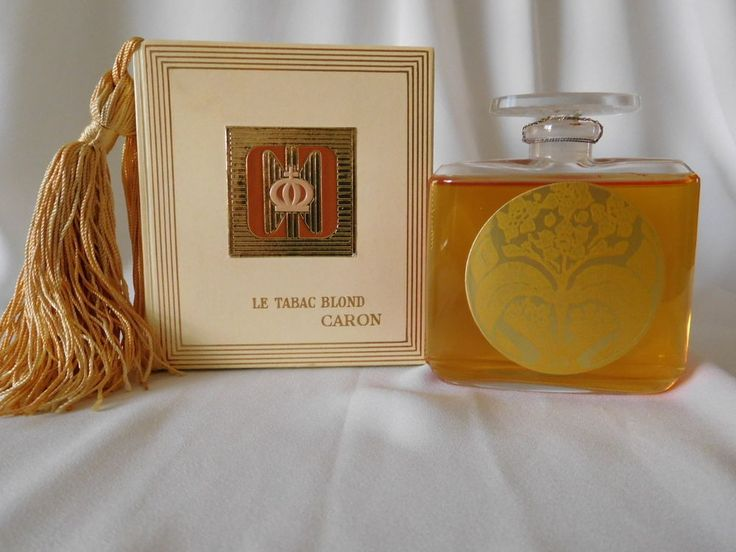 Vintage CARON LE TABAC BLOND 2.12 oz Parfum /Perfume, Sealed in Box, Very Rare #Caron