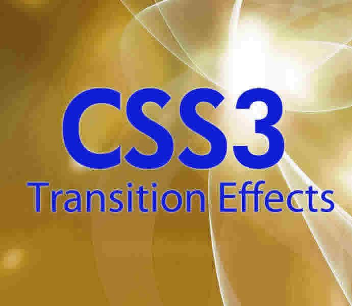 8 simple CSS Transition effects examples with preview & code snippets.