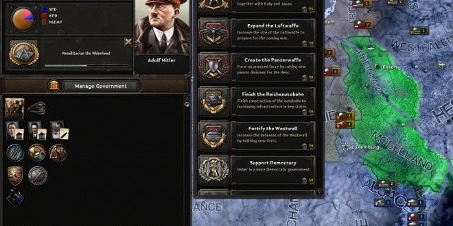 Hearts of Iron IV lets you micromanage as Hitler • Load the Game