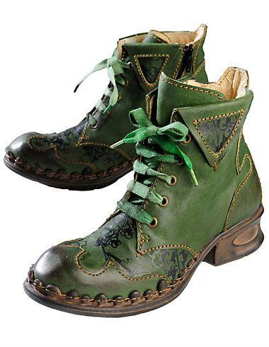 Rovers Esta, green - Ankle Boots - Deerberg