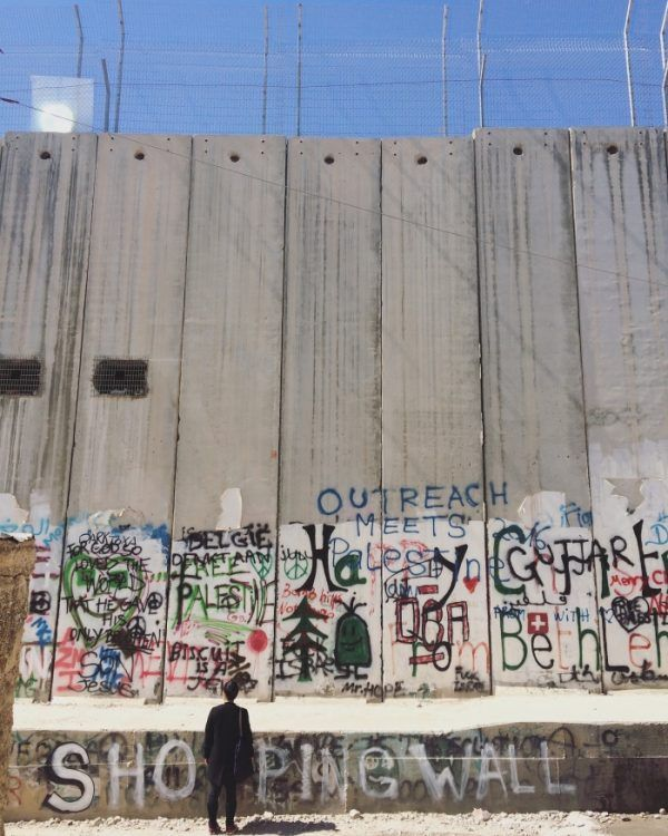Tour político-ativista-vegano-feminista na Palestina, 2017 // Papacapim