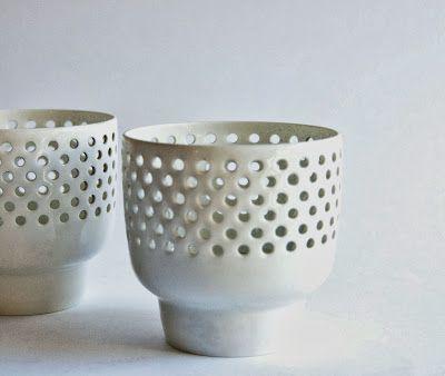 Retro Pottery Net: Arabia Finland - Candle Holders