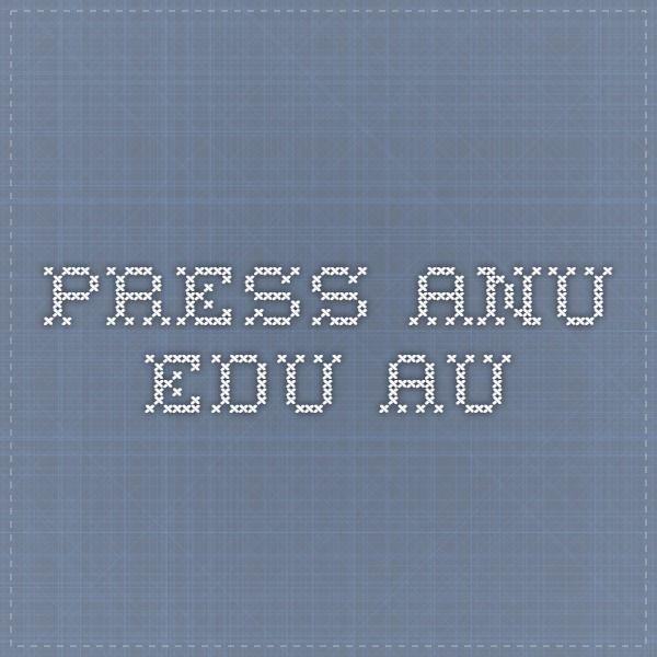 press.anu.edu.au