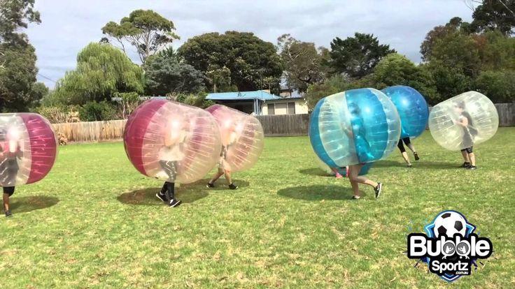 Bubble Soccer Hen's Party Melbourne