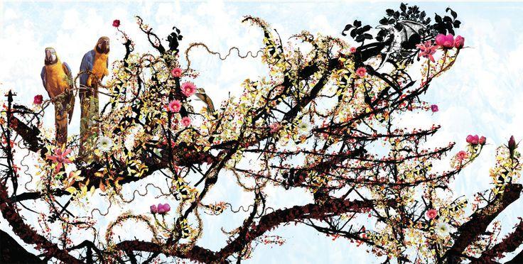 Kettel: My dogan - CD Cover illustration.