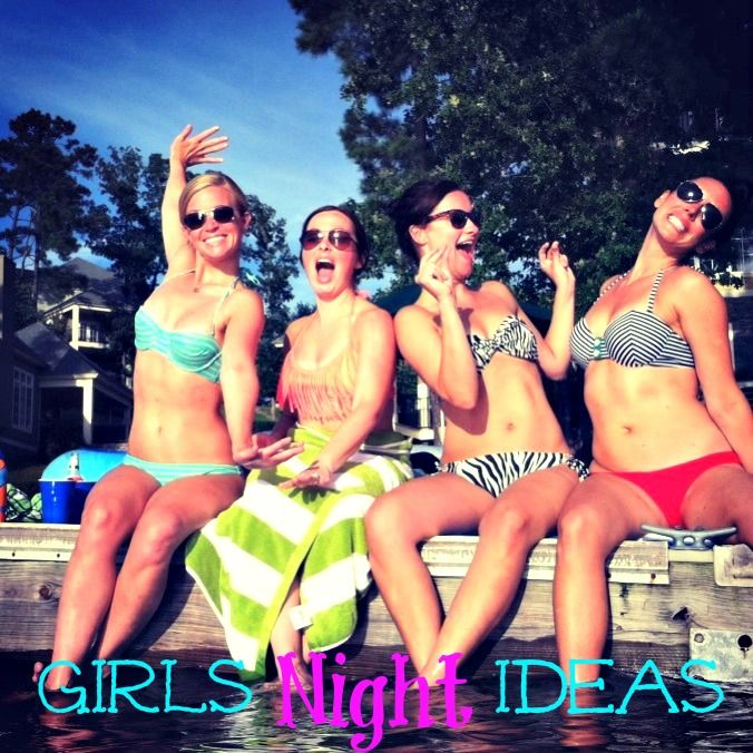 Girls night or day ideas! Some are frugal, some are just plain 'ol fun! Ideas to help you enjoy the most fun day with your bestie! #friends #girlsnight