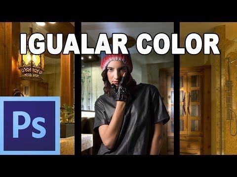 ▶ Igualar colores de dos imágenes - Tutorial Photoshop en Español por @Prisma Tutoriales (HD) - YouTube