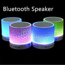 LED Mini Altavoz Sin Hilos de Bluetooth A9 USB TF FM Musical Portátil de Altavoces Subwoofer Manos libres llamada De teléfono PC con Mic(China (Mainland))
