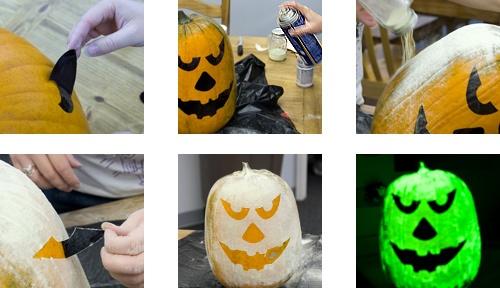 fun glowing pumpkins