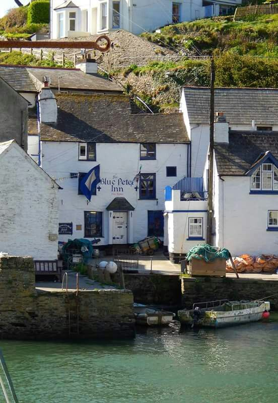 Polperro, charming town in Cornwall