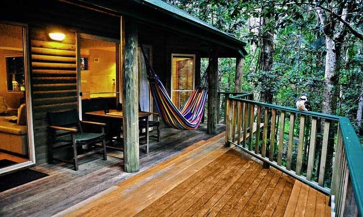 Kookaburra verandah