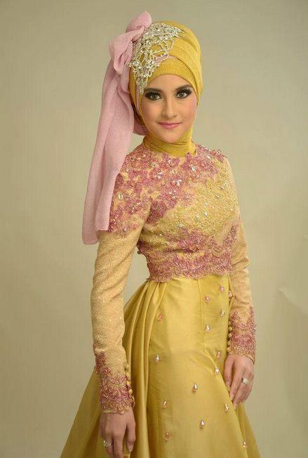 Baju Pesta Muslim Modern Yang Elegan #Hijab #HijabTutorial #HijabIndonesia #BusanaMuslim www.hafana.com