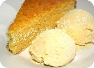 Rezept für einen ausgefallenen Revani Kuchen - eine traditioneller griechischer Kuchen, der aus Grieß zubereitet wird.