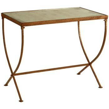 Arteriors Kensington Iron/Mirror Tapered Leg Table by Arteriors Home. $588.00. Arteriors Kensington Iron/Mirror Tapered Leg Table