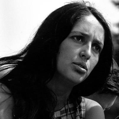 A Date to Remember:  Joan Baez (born January 9, 1941)