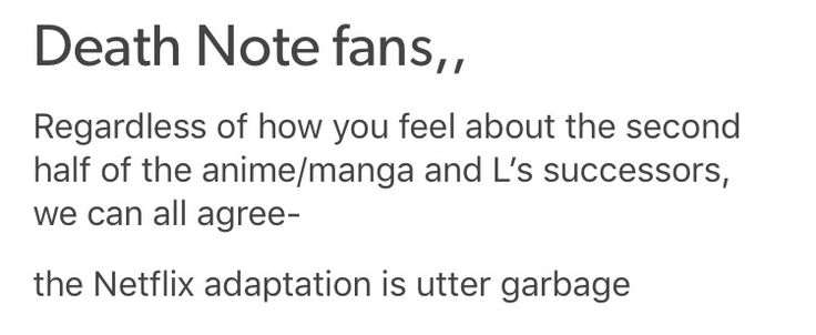 So tRUE. I haven't even finished watching the anime, but I watched the movie with a friend and it was was horRIBLE.