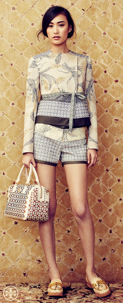 The Obi Short Suit | Tory Burch Spring 2013