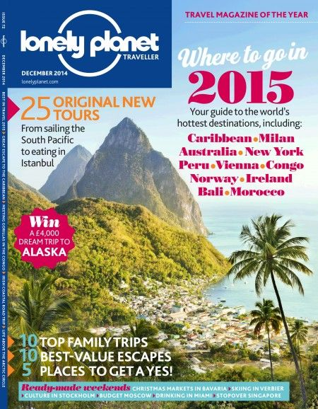 A subscription to the fantastic Lonely Planet Traveller magazine.