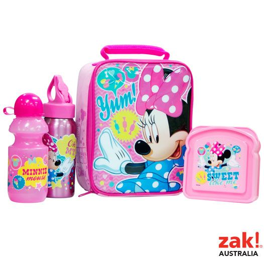 Zak Australia Minnie Mouse Back To School Range For Target