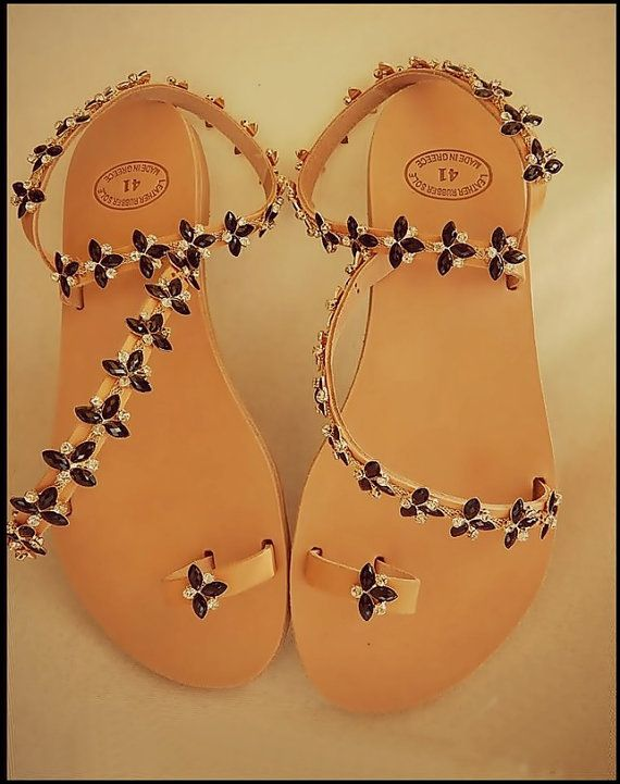 women's sandals,little flower
